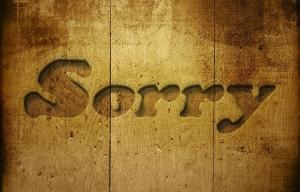 Entschuldigung Verzeihung Vergebung