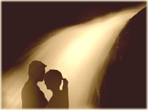 Liebe ist spirituell, emotional und körperlich verbunden zu sein.