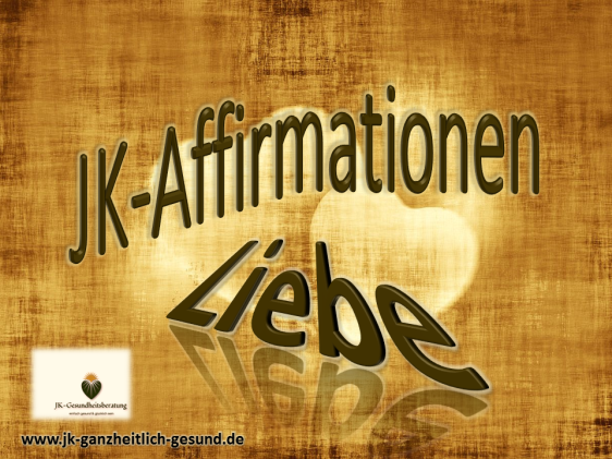Affirmationen für Liebe vision-neue-welt.com
