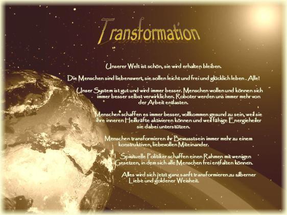 Vision Transformation Innen und Außen