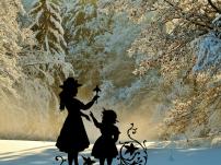 Adventsgeschichte Feen-Geschichte die kleine Fee will weiße Weihnacht