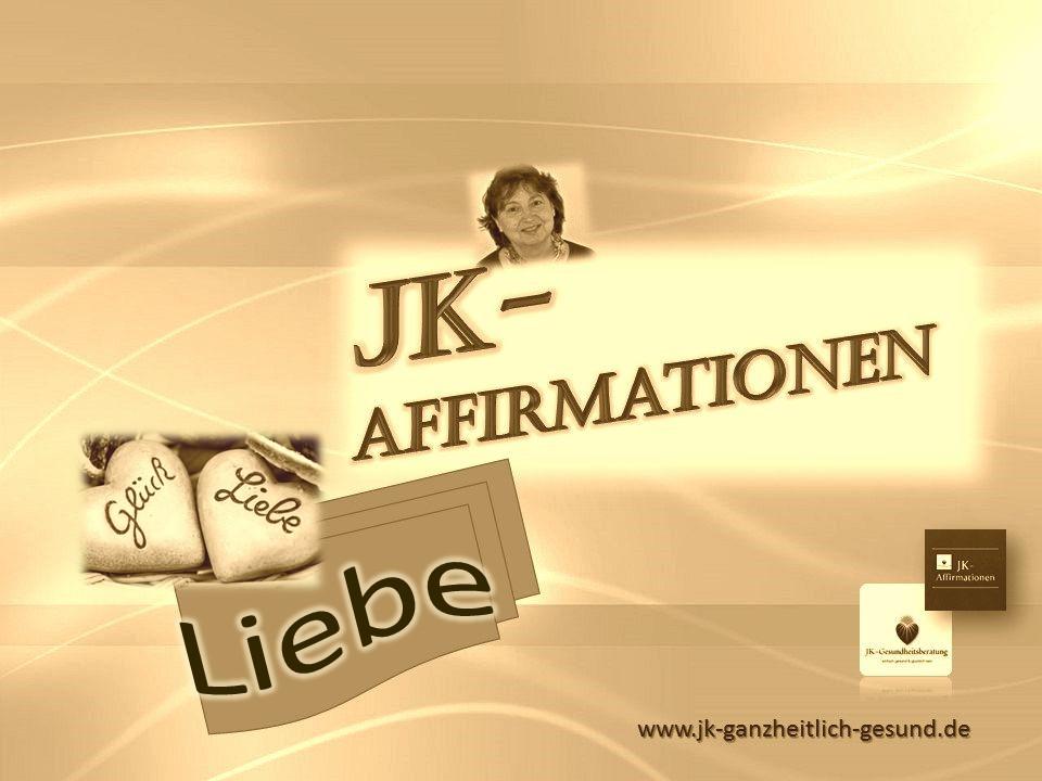 Affirmationen *Liebe* von  Johanna Kallert