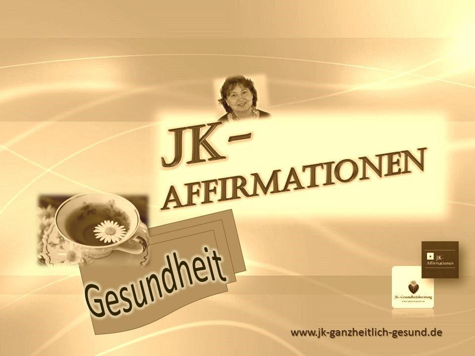 Affirmationen *Gesundheit* von Johanna Kallert