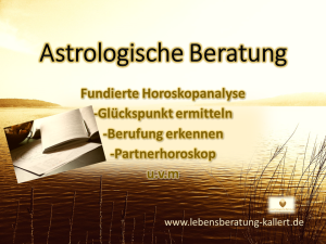 Astrologische Beratung www.lebensberatung-kallert.de