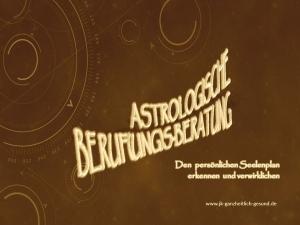 Astrologische Berufungsberatung