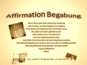 Affirmation Begabung vision-neue-welt.com