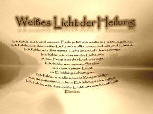 Weißes Licht der Heilung vision-neue-welt.com