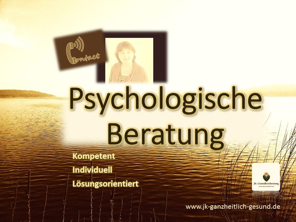 Psychologische Beratung Johanna Kallert