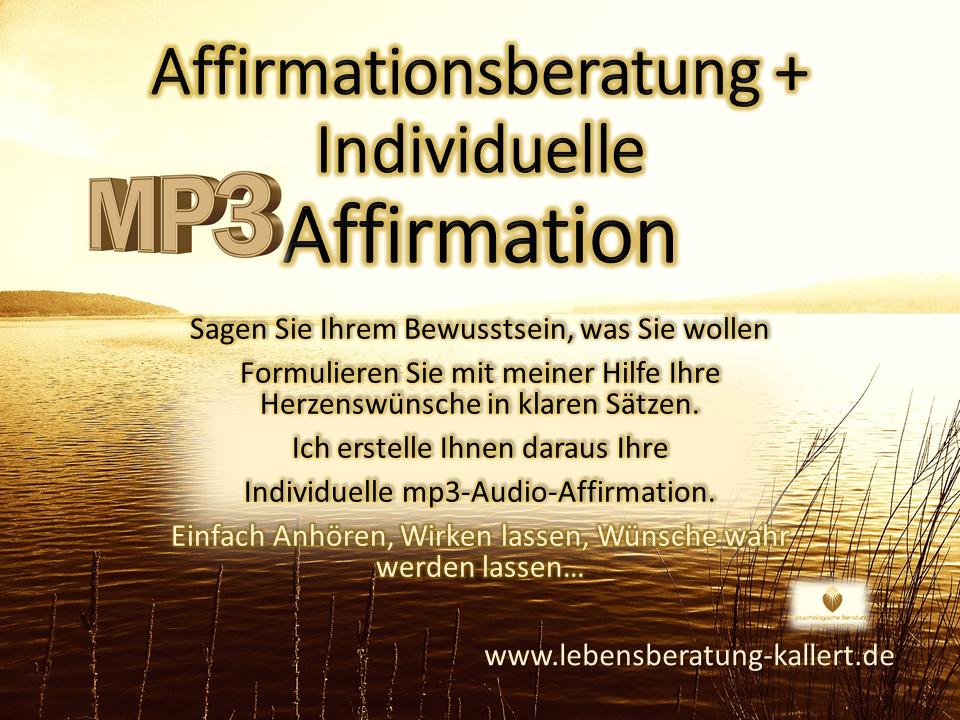 mp3-Affirmationen